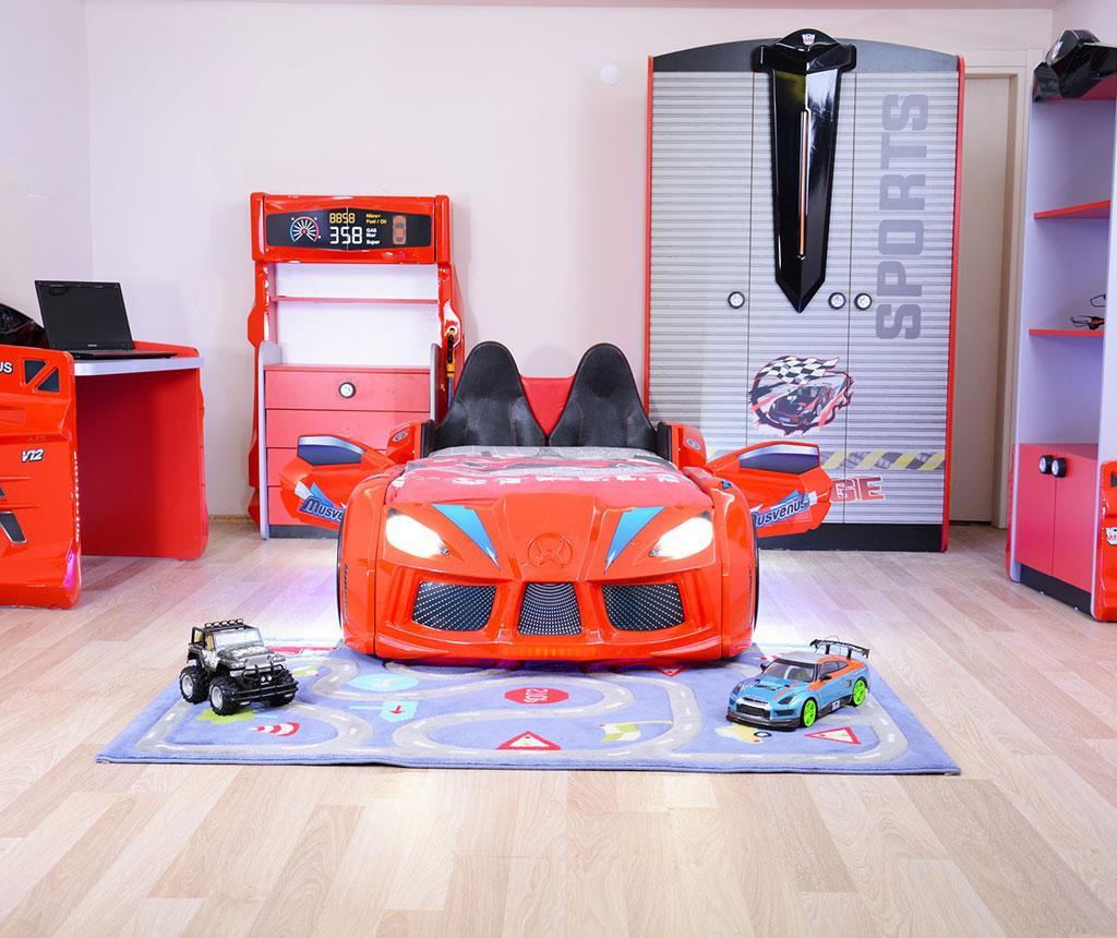 Otroški posteljni okvir Dream Red
