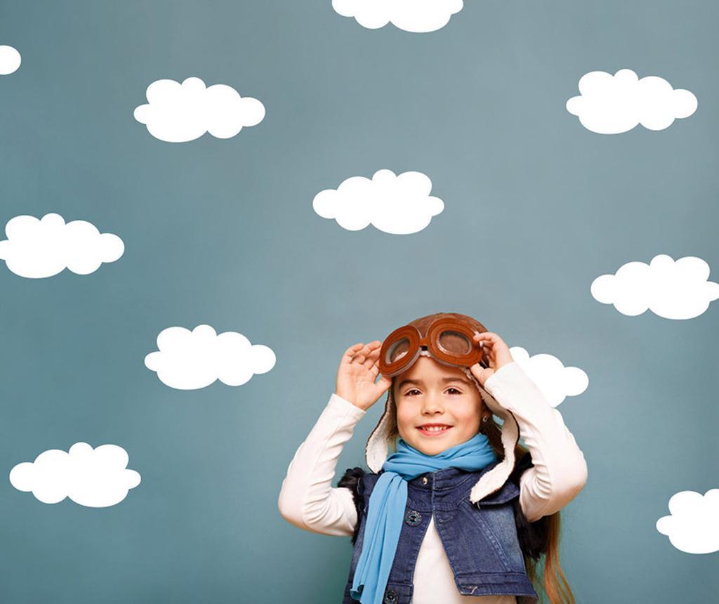 Σετ 14 αυτοκόλλητα Cloud