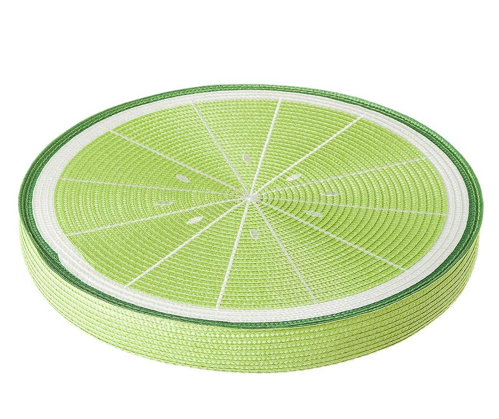 Jastuk za sjedalo Fruits Lemon Green