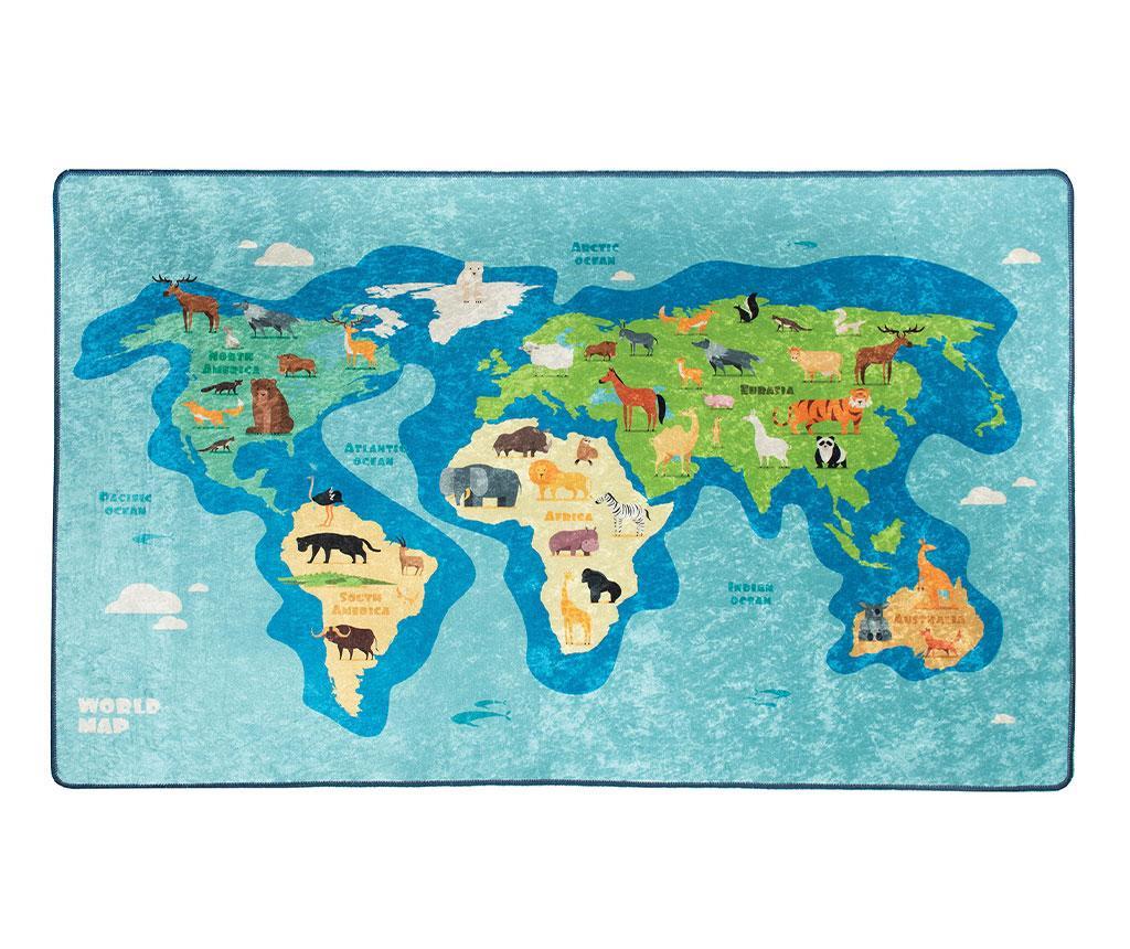 Map Szőnyeg 140x190 cm