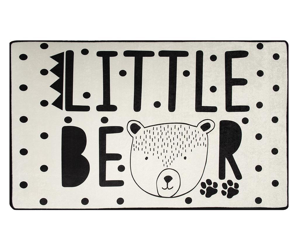 Covor Little Bear White 140x190 cm