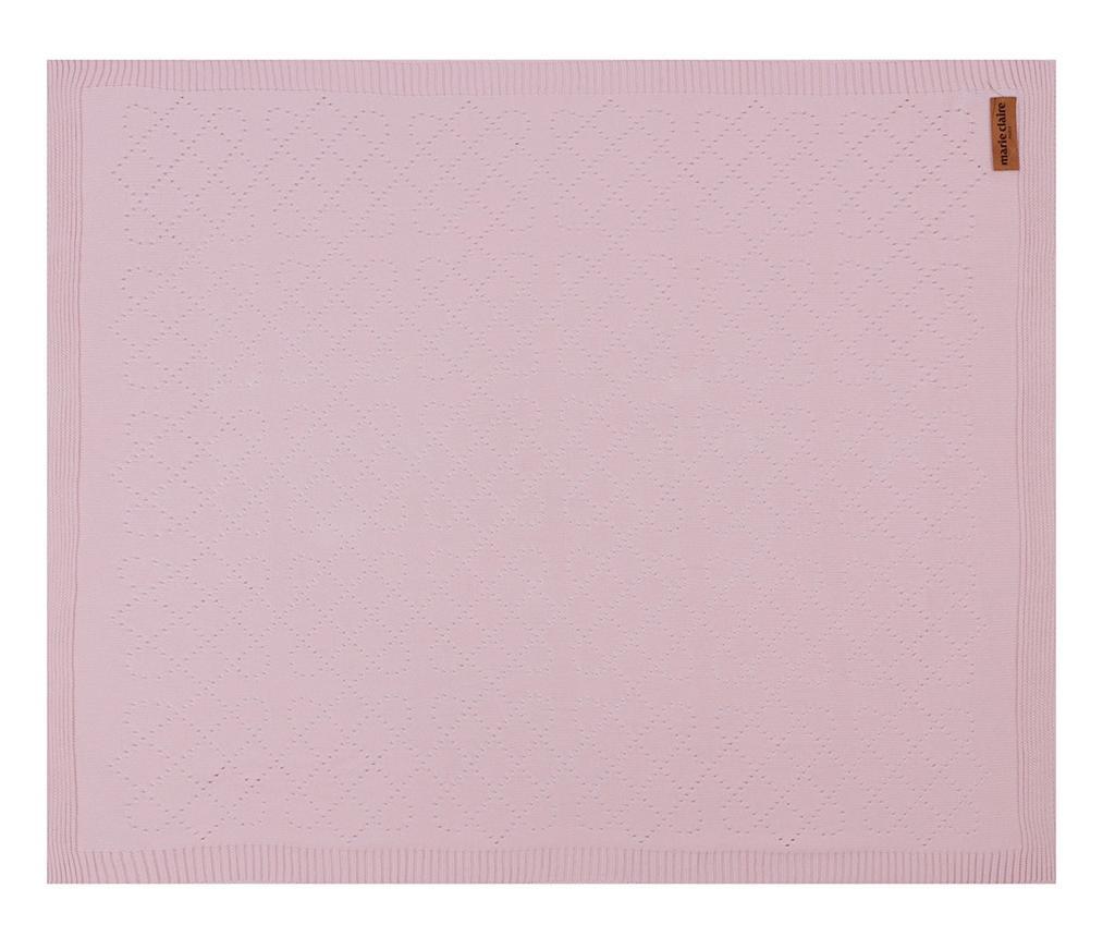 Deka Chloe Pink 80x100 cm