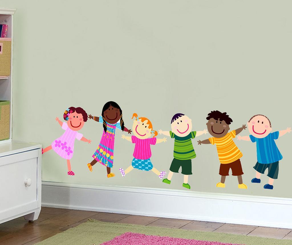 Sticker Happy Children