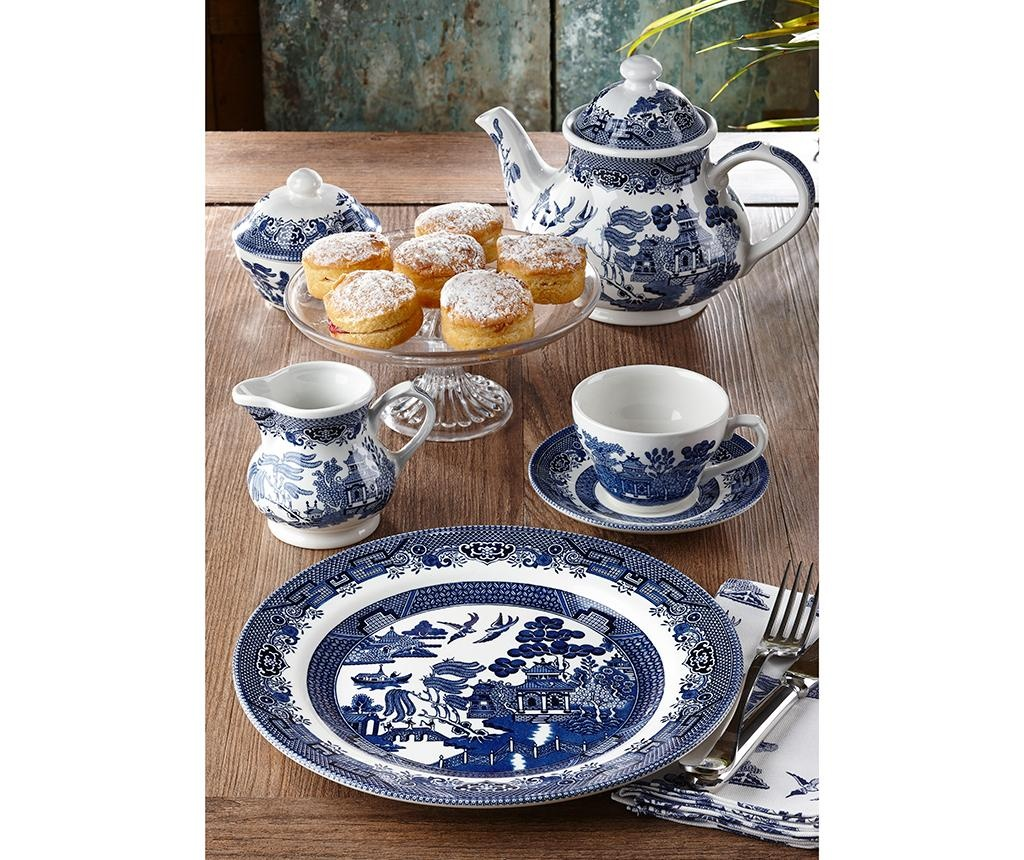 Set ceasca si farfurioara Blue Willow