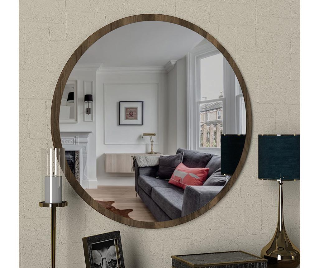 Ogledalo Glob Walnut