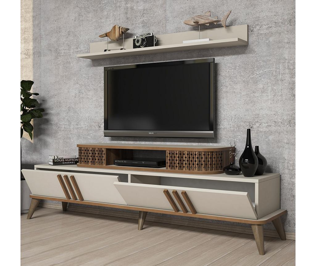 Set mobilier living Eylul Cream