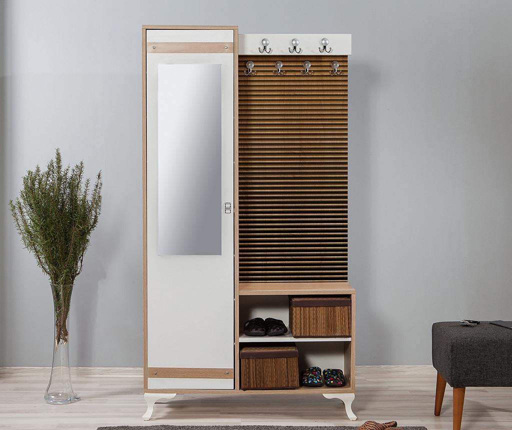 Set - garderobna omara in omara za čevlje Inci Stripes