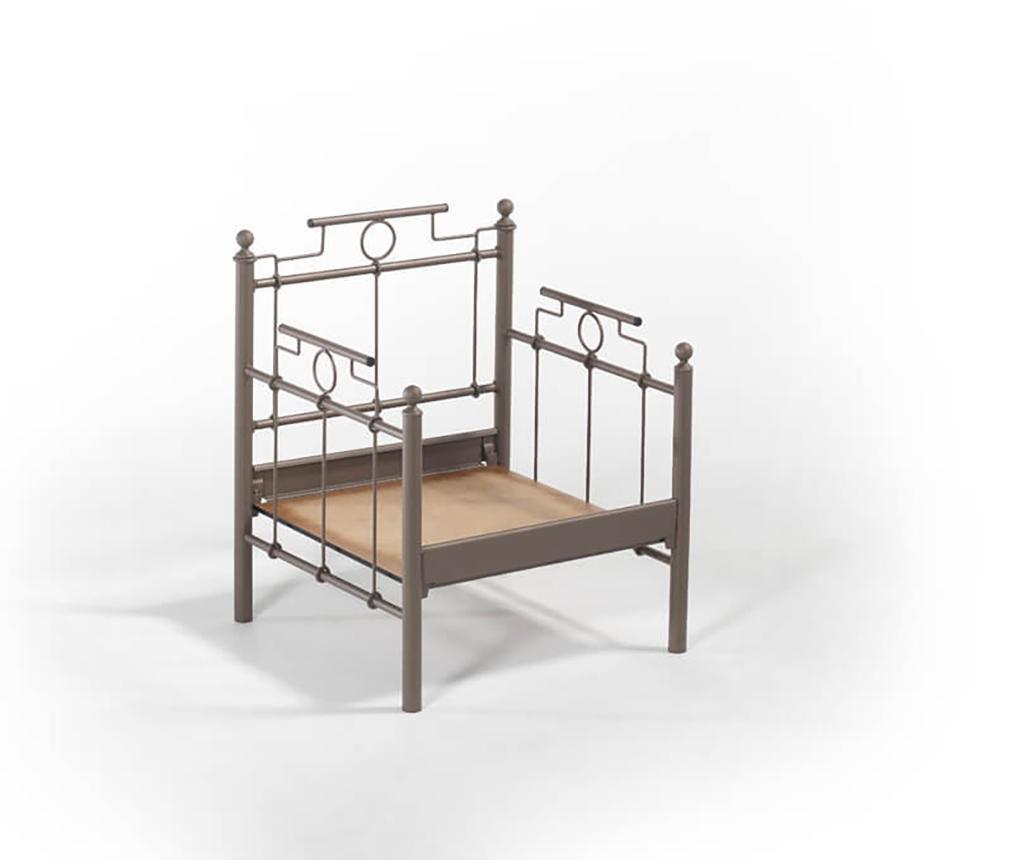 Set canapea 3 locuri si 2 fotolii pentru exterior Hatkus Brown Beige