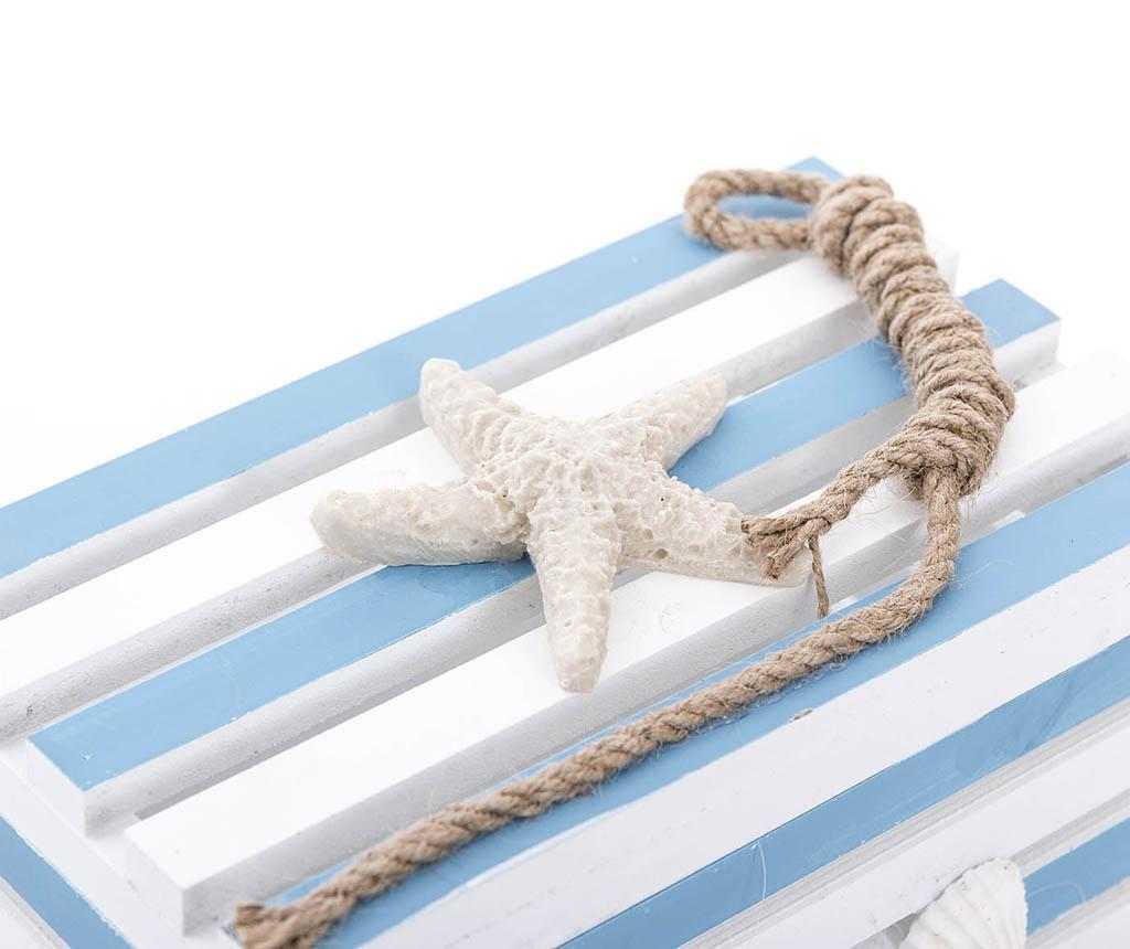 Škatla s pokrovom Starfish Rounded