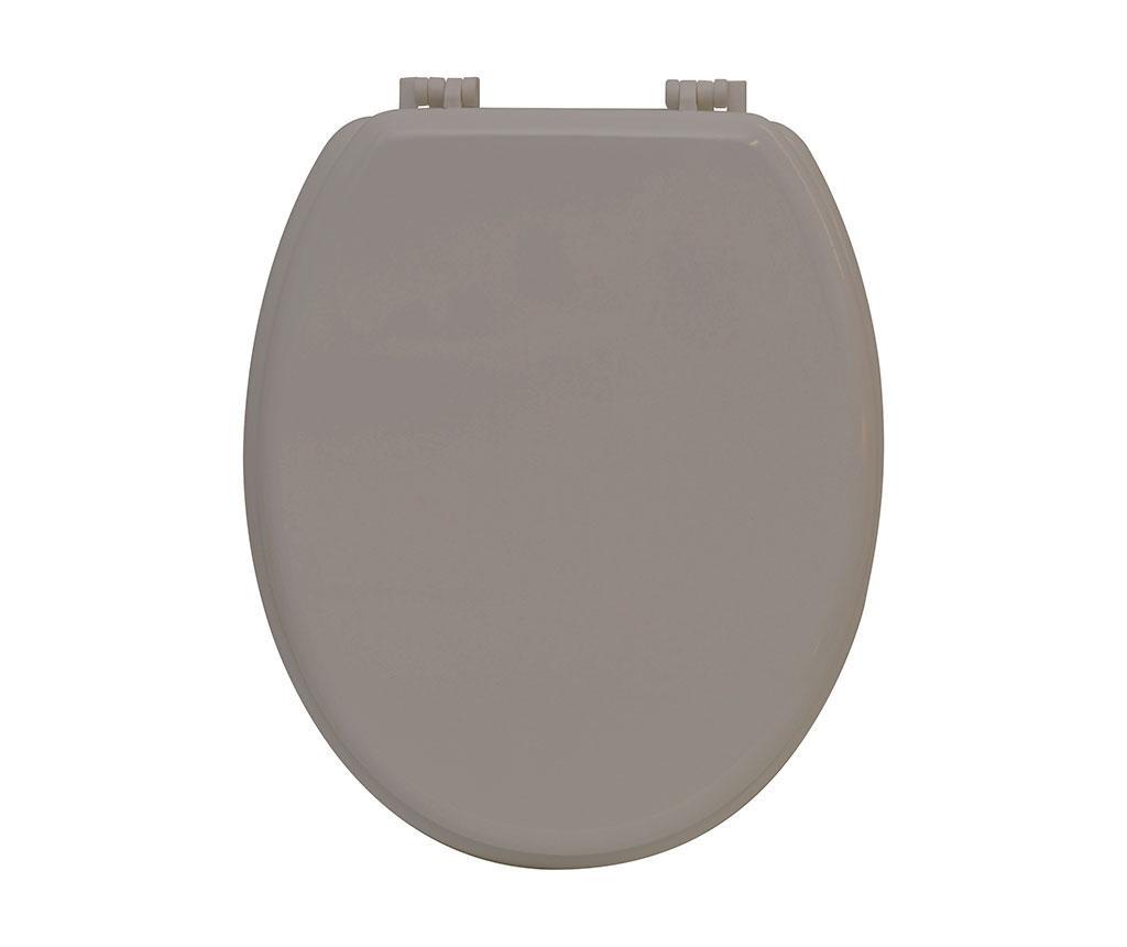 Capac de toaleta Simple Taupe
