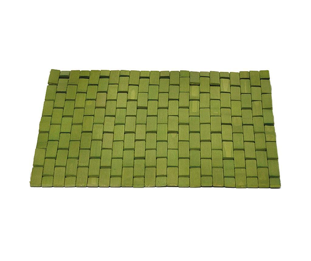Tepih za tuš kabinu Slippery Green 45x45 cm