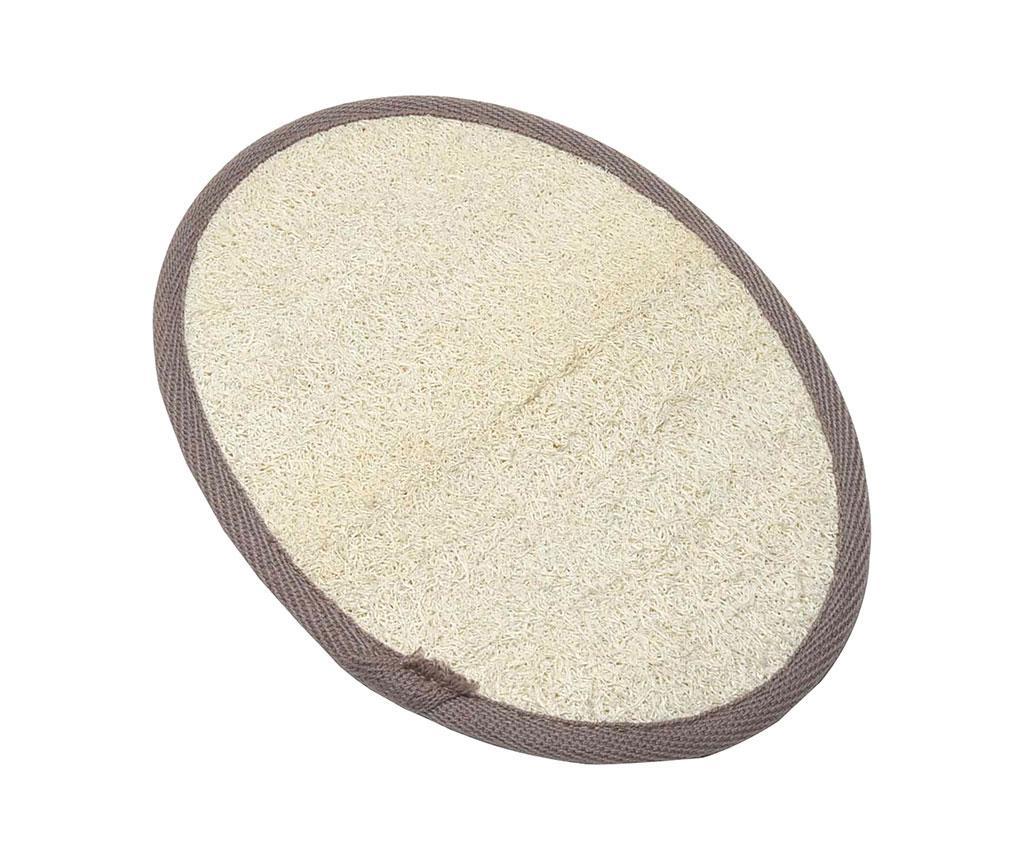 Manusa exfolianta pentru baie Loofah Cream & Taupe