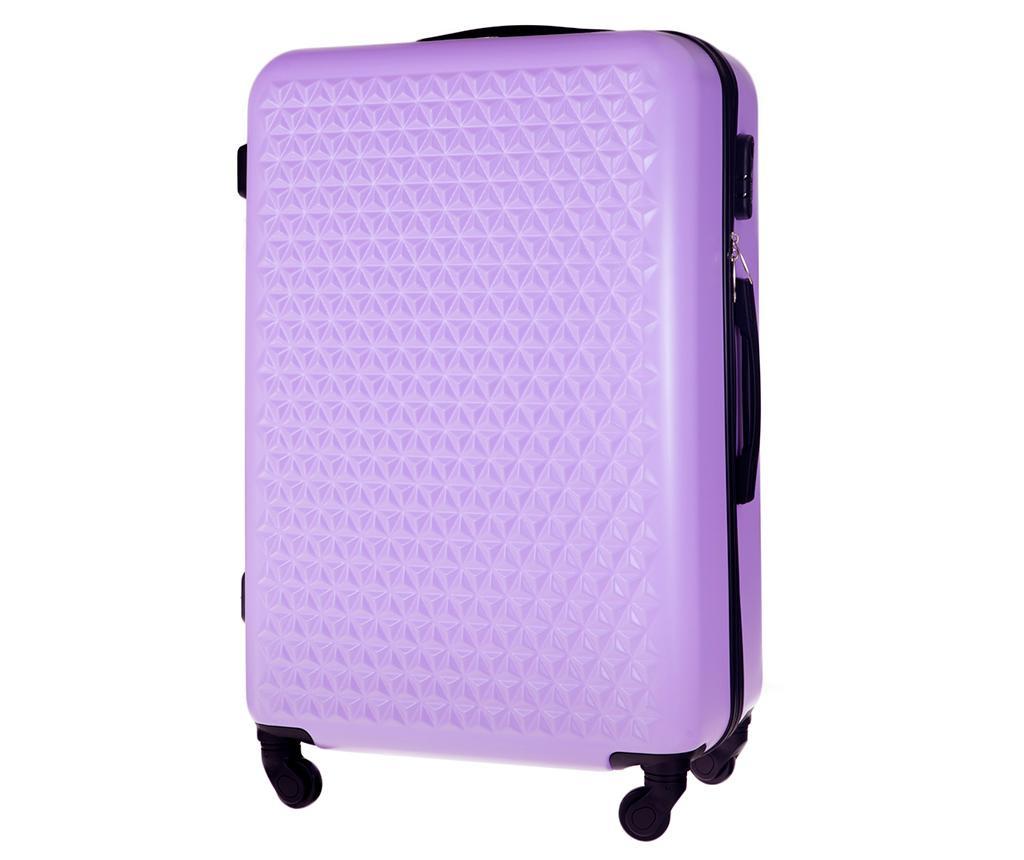 Kovček na kolesih Arrow Purple 72 L