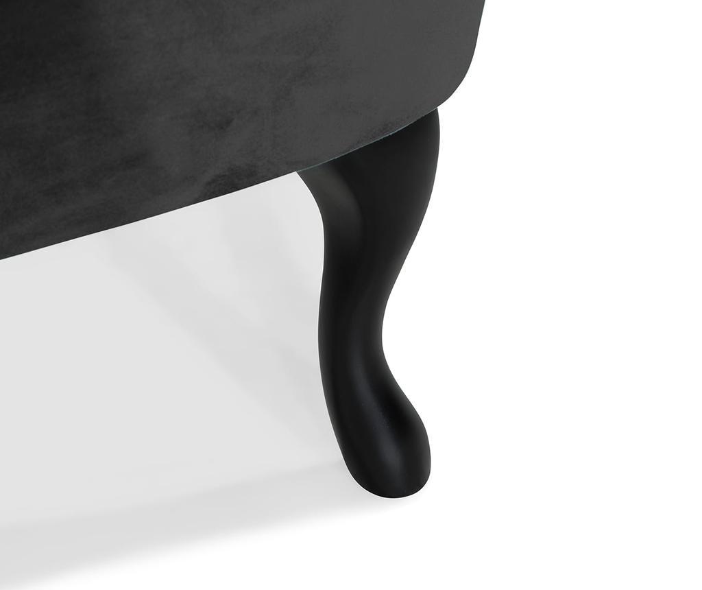 Fotelj diYana Soft Black 3H