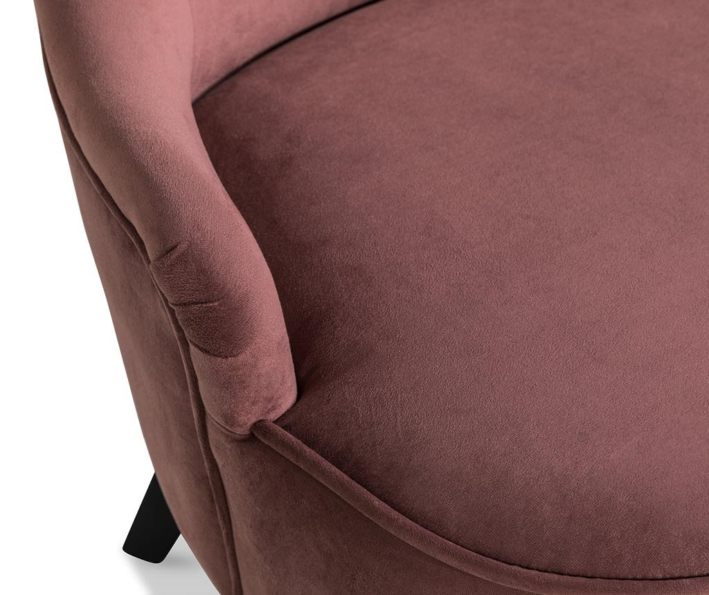 diYana Soft Rust Pink 3H Fotel