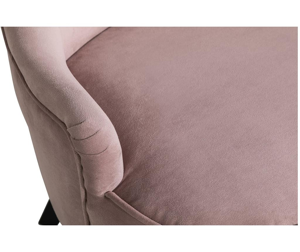 Sofa diYana Soft Light Pink 3H