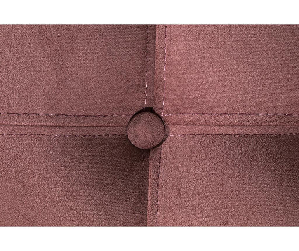 Taburet pentru picioare diYana Rust Pink Maxi