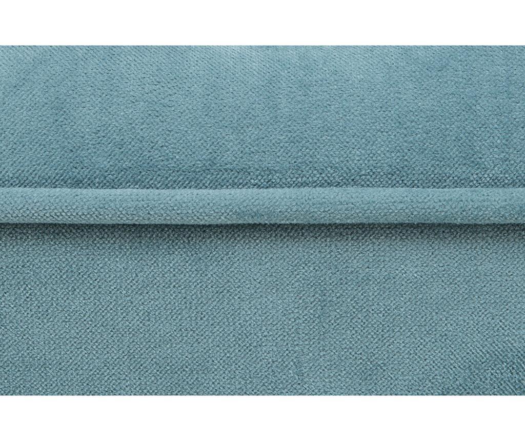 Taburet pentru picioare diYana Square Turquoise