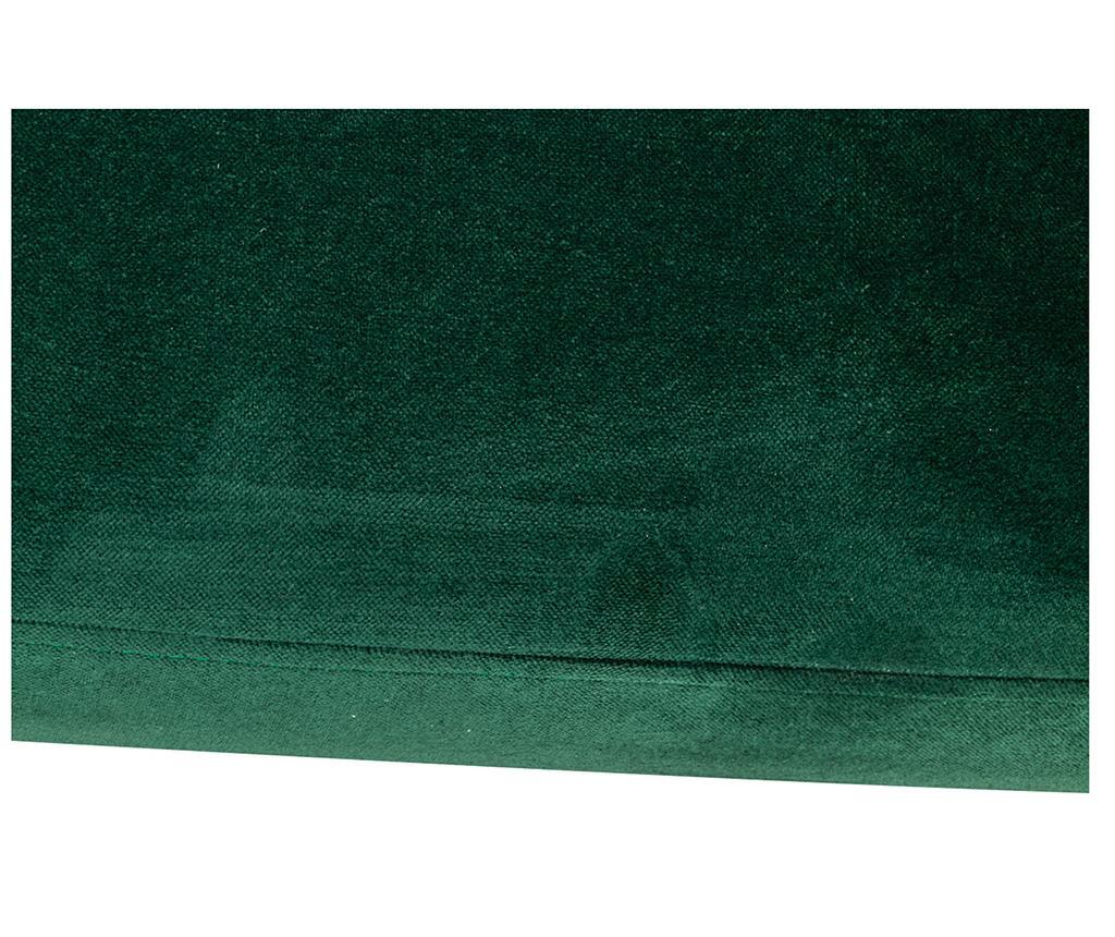 Ležaljka za dnevni boravak diYana Dark Green And Golden Legs
