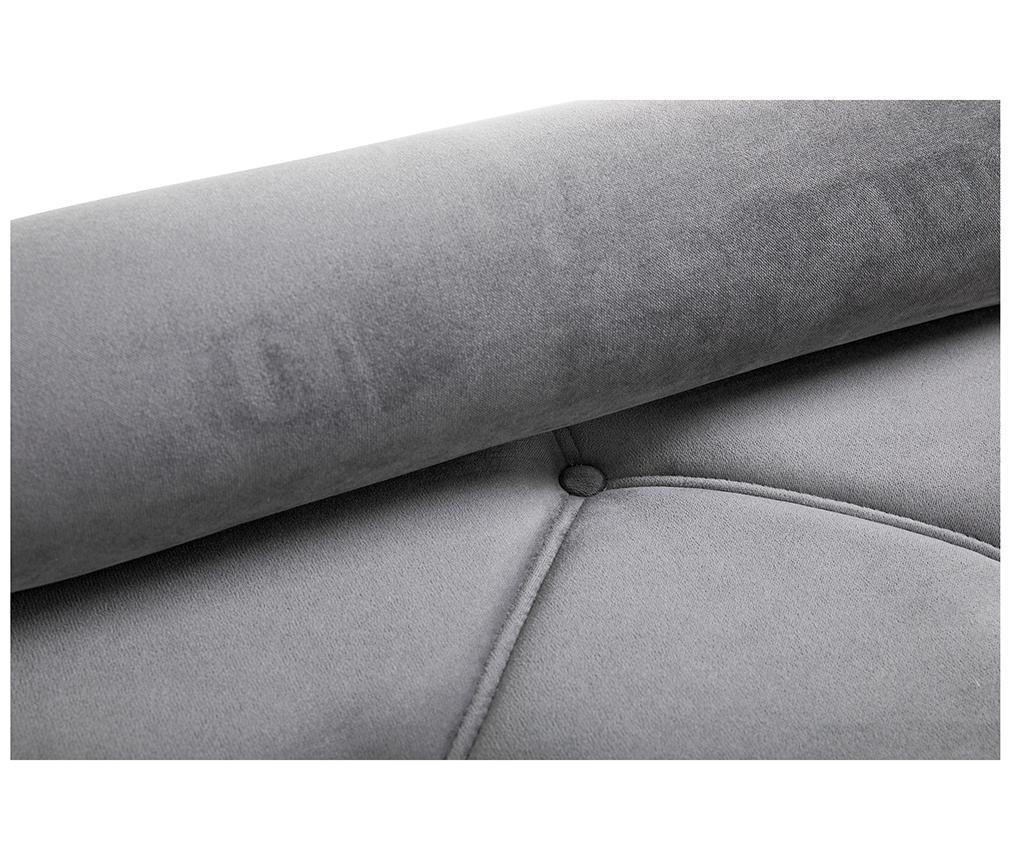 Ležaljka za dnevni boravak diYana Grey And Golden Legs