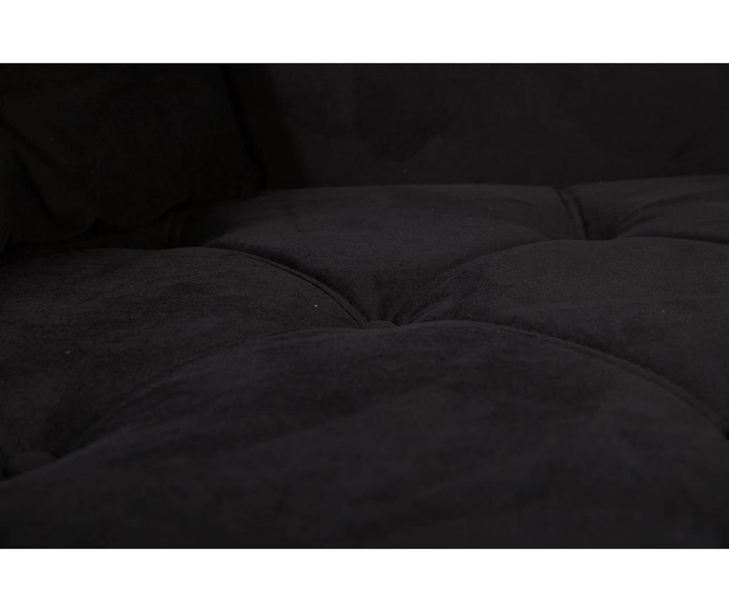 Desna ležaljka za dnevni boravak diYana Black