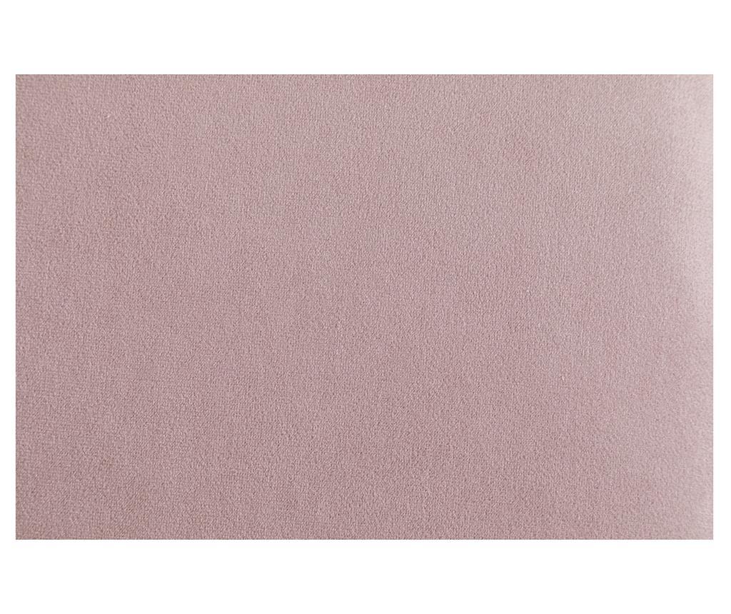 Десен шезлонг за дневна diYana Classic Light Pink