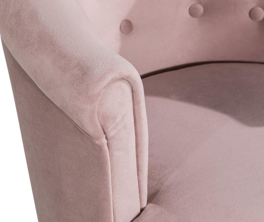 Madalina Light Pink Fotel