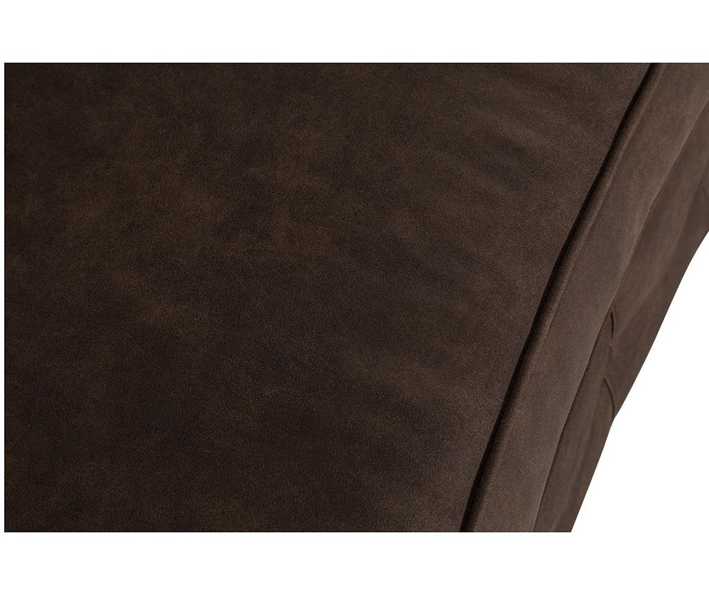 Canapea 3 locuri Chesterfield Curved Vintage Brown