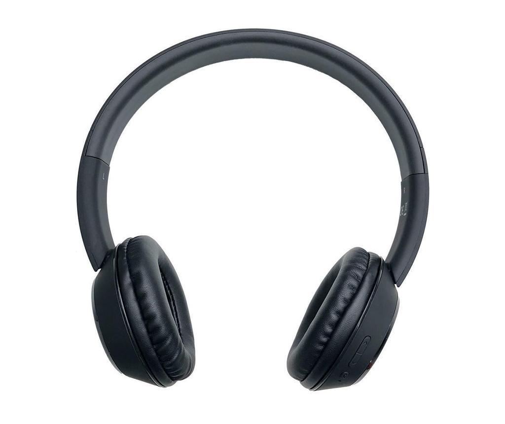 Casti wireless cu microfon iFrogz Coda Black