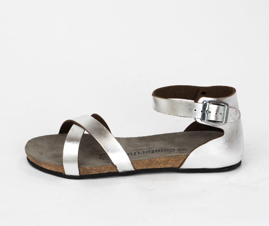 Sandale dama Milano Silver 40