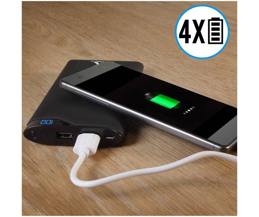 Baterie externa cu cablu Akashi Slim 2xUSB