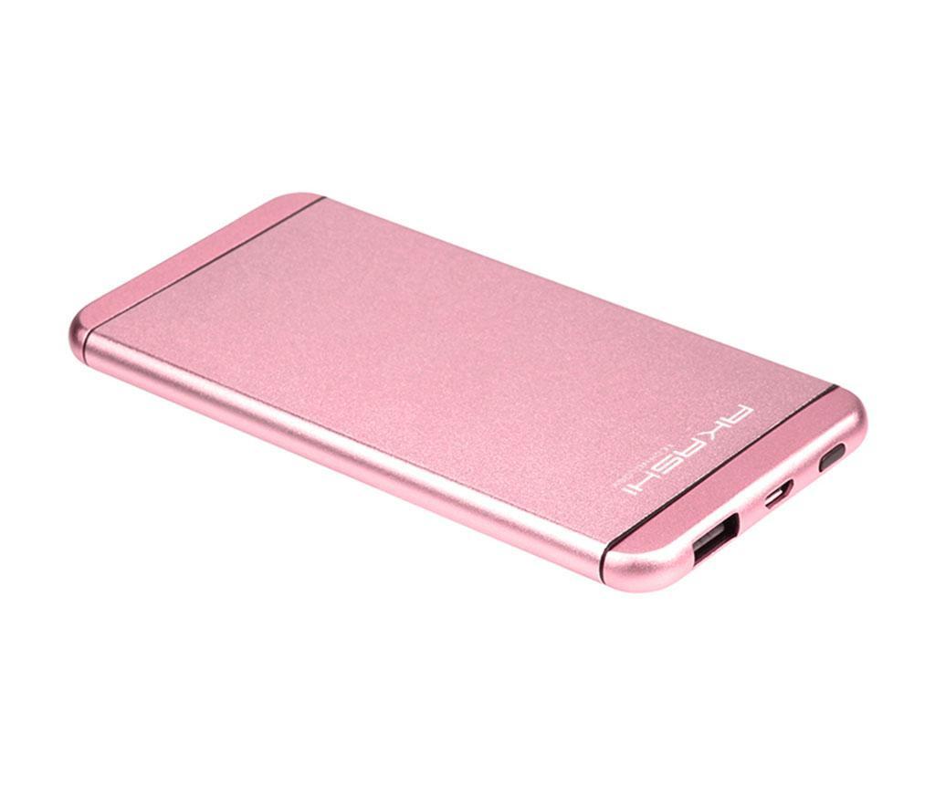 Baterie externa Akashi Ultra Slim Rose Gold