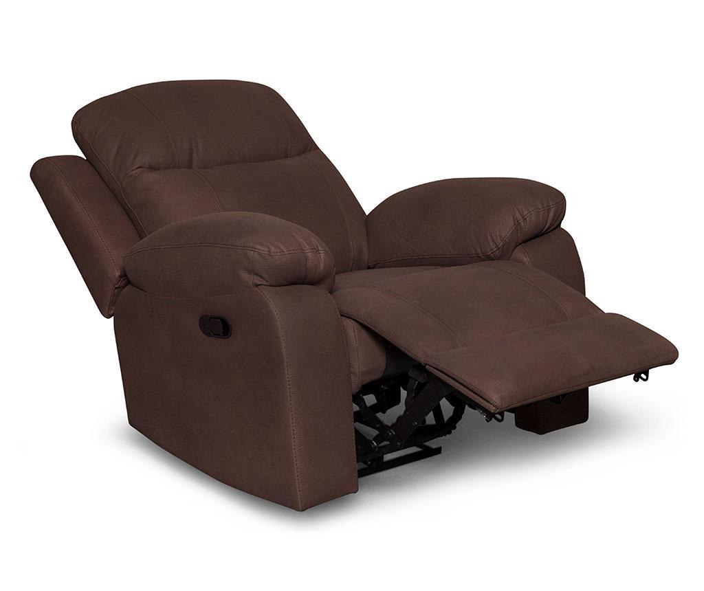Fotelja s relax funkcijom Chicago Mozart Classic Brown