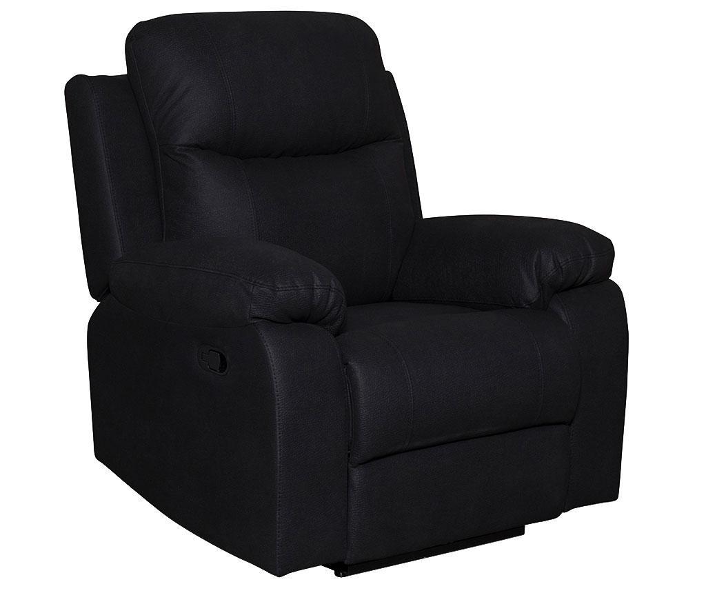 Fotelja s relax funkcijom Chicago Mozart Classic Black