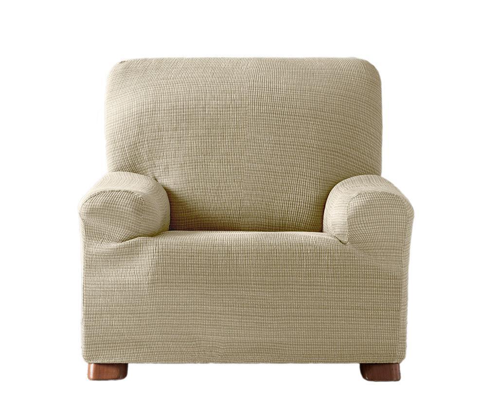 Aquiles Ecru Elasztikus huzat fotelre 80-110 cm
