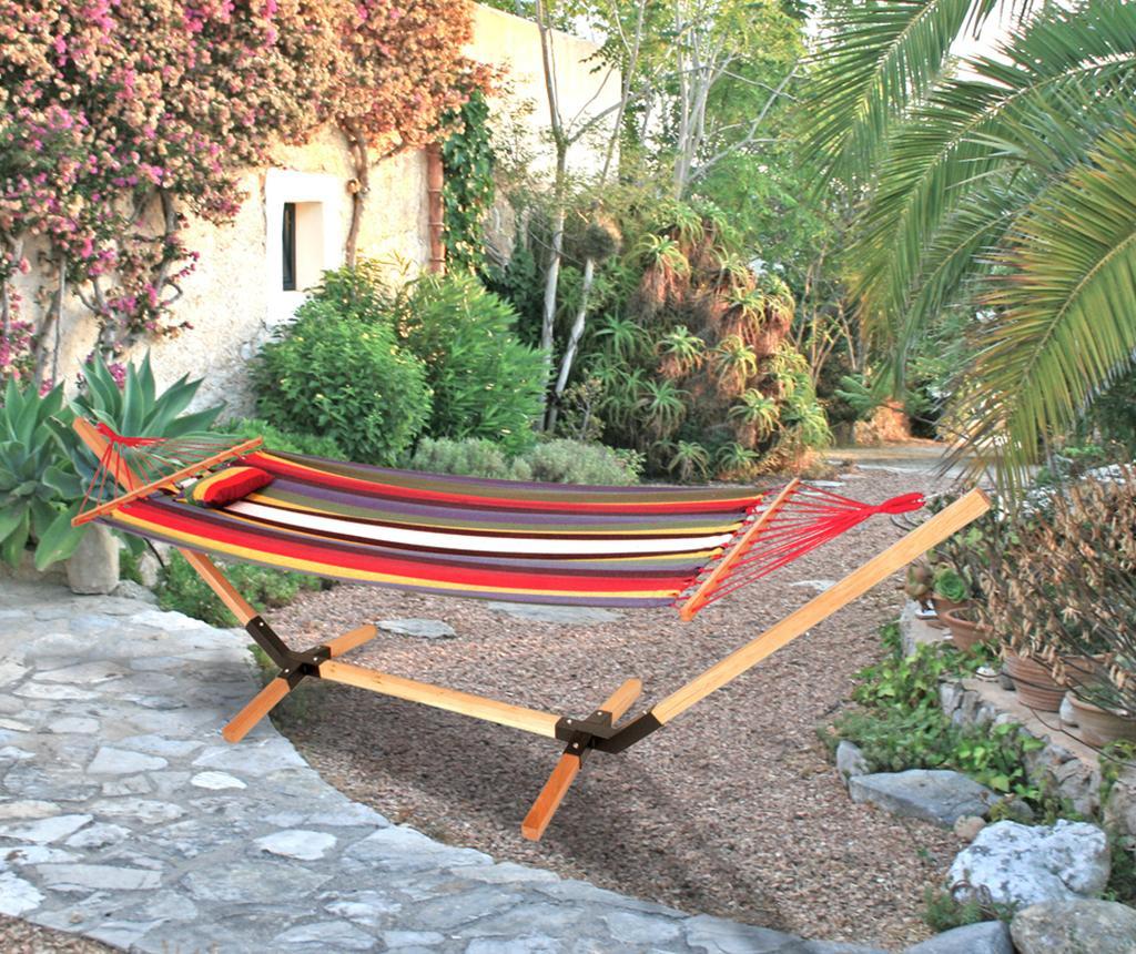 Viseča mreža s stojalom Haiti