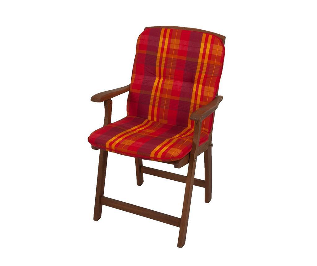 Jastuk za sjedenje i jastuk za naslon Cardiff Red