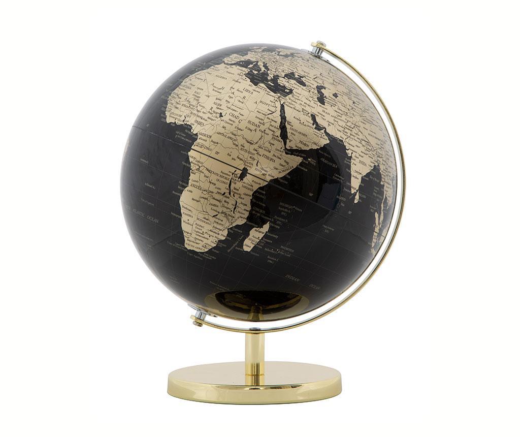Dekorace Globe Black M
