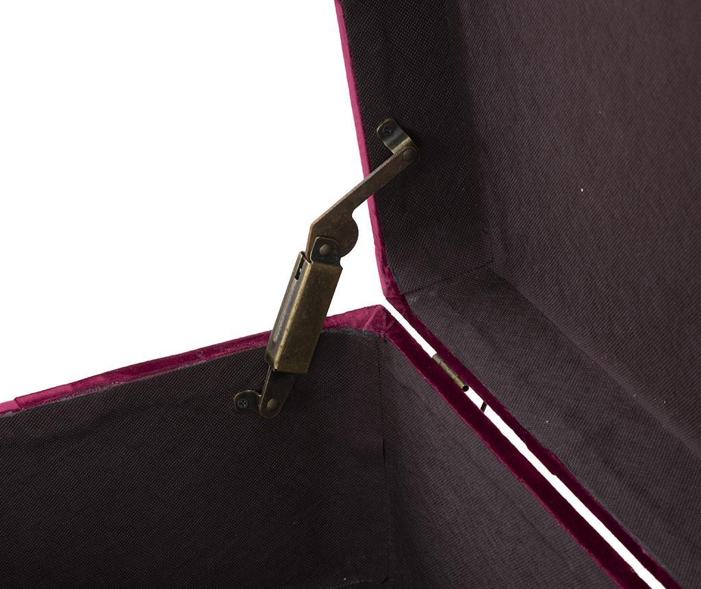 Set 2 banchete Stila Bordeaux