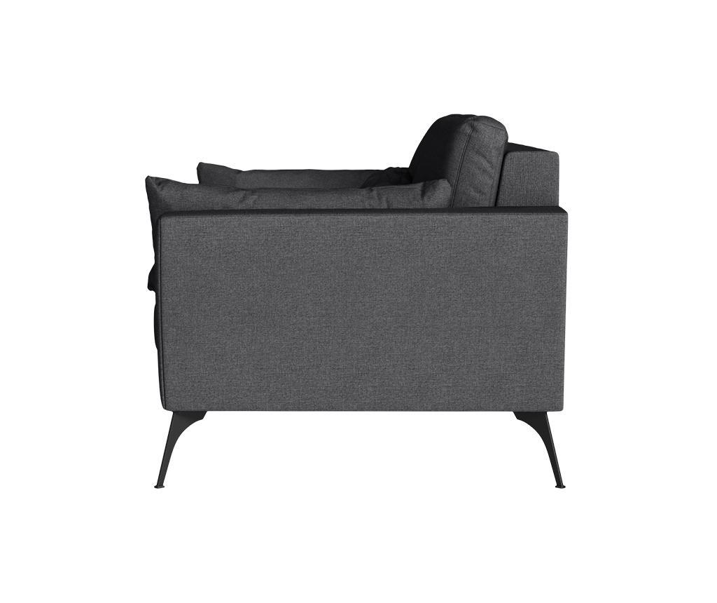 Susan Anthracite Kétszemélyes kanapé