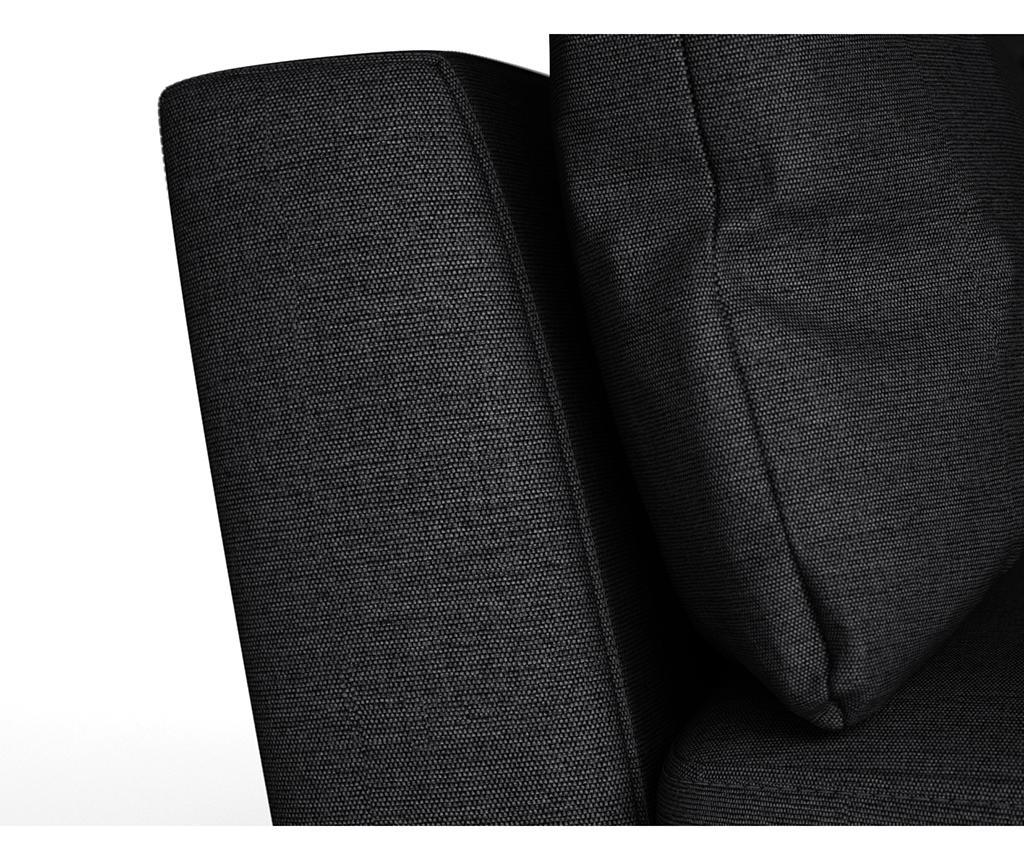 Susan Black Kétszemélyes kanapé