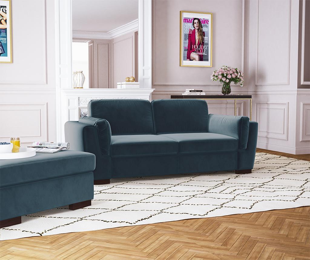 Bree Turquoise Kétszemélyes kanapé