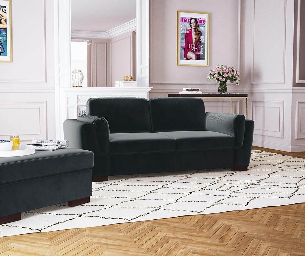 Bree Anthracite Kétszemélyes kanapé