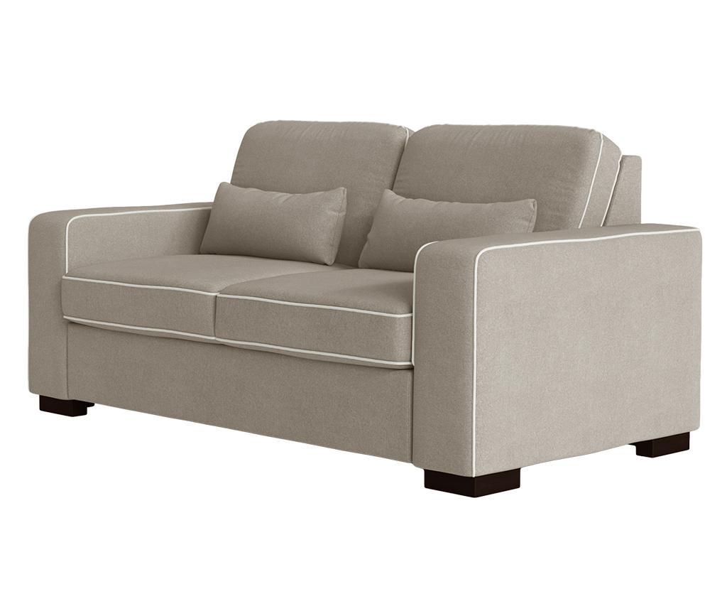 Katherine Taupe Grey Kétszemélyes kanapé