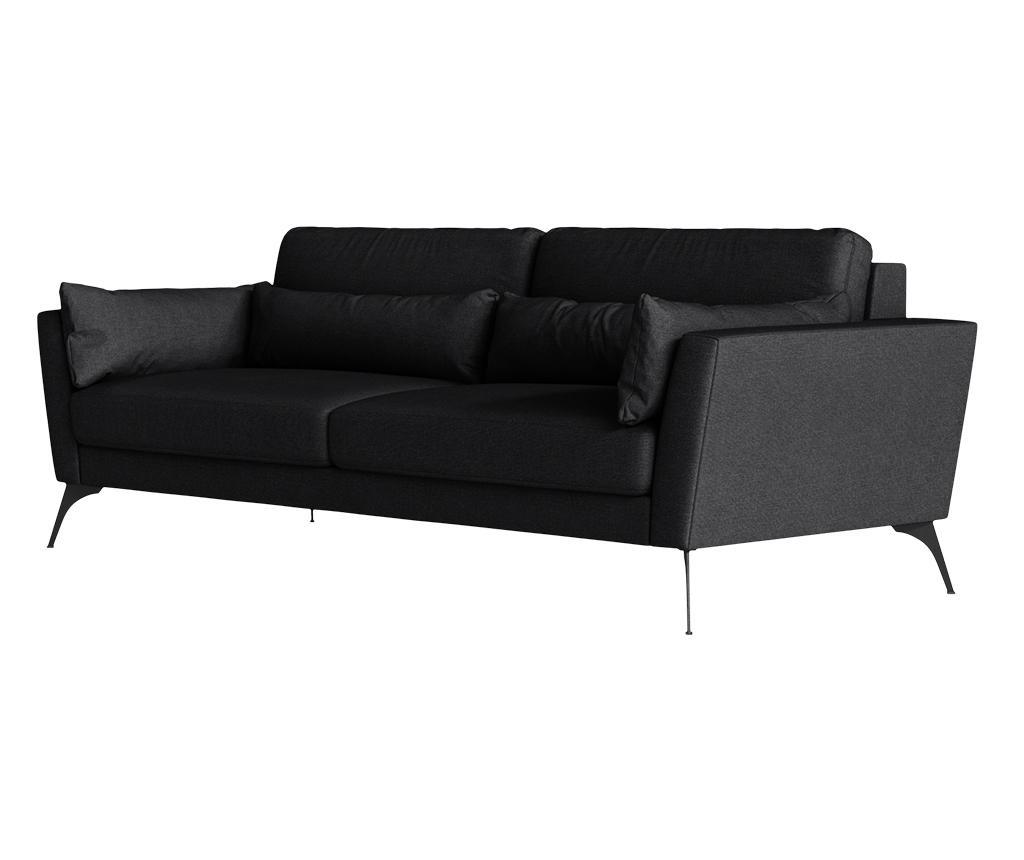 Susan Black Háromszemélyes kanapé