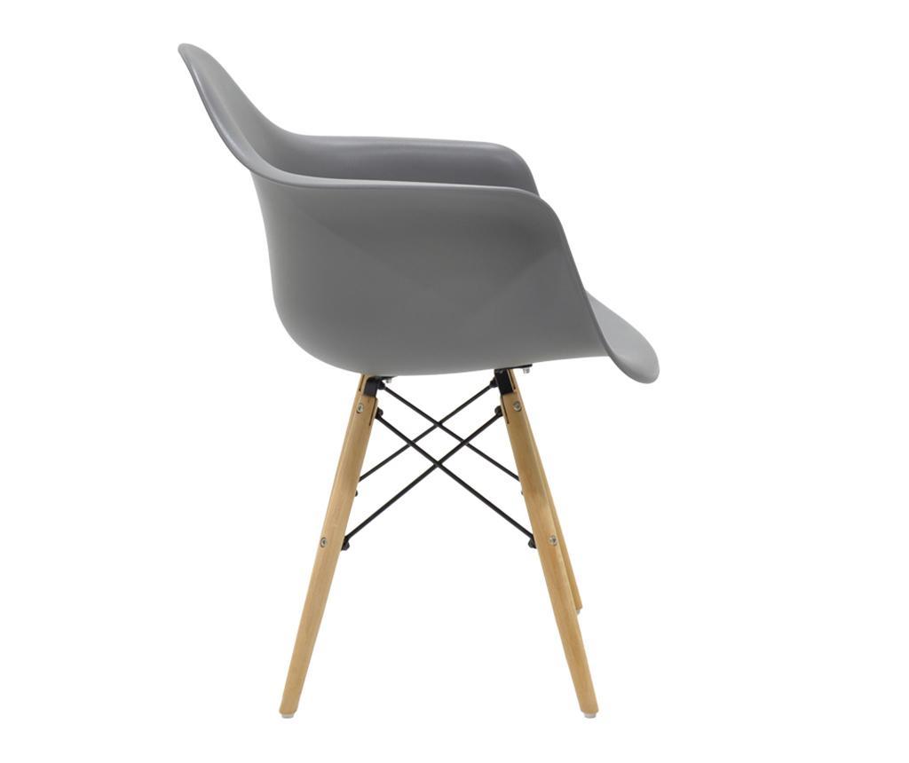 Stolica Julia Wide Grey
