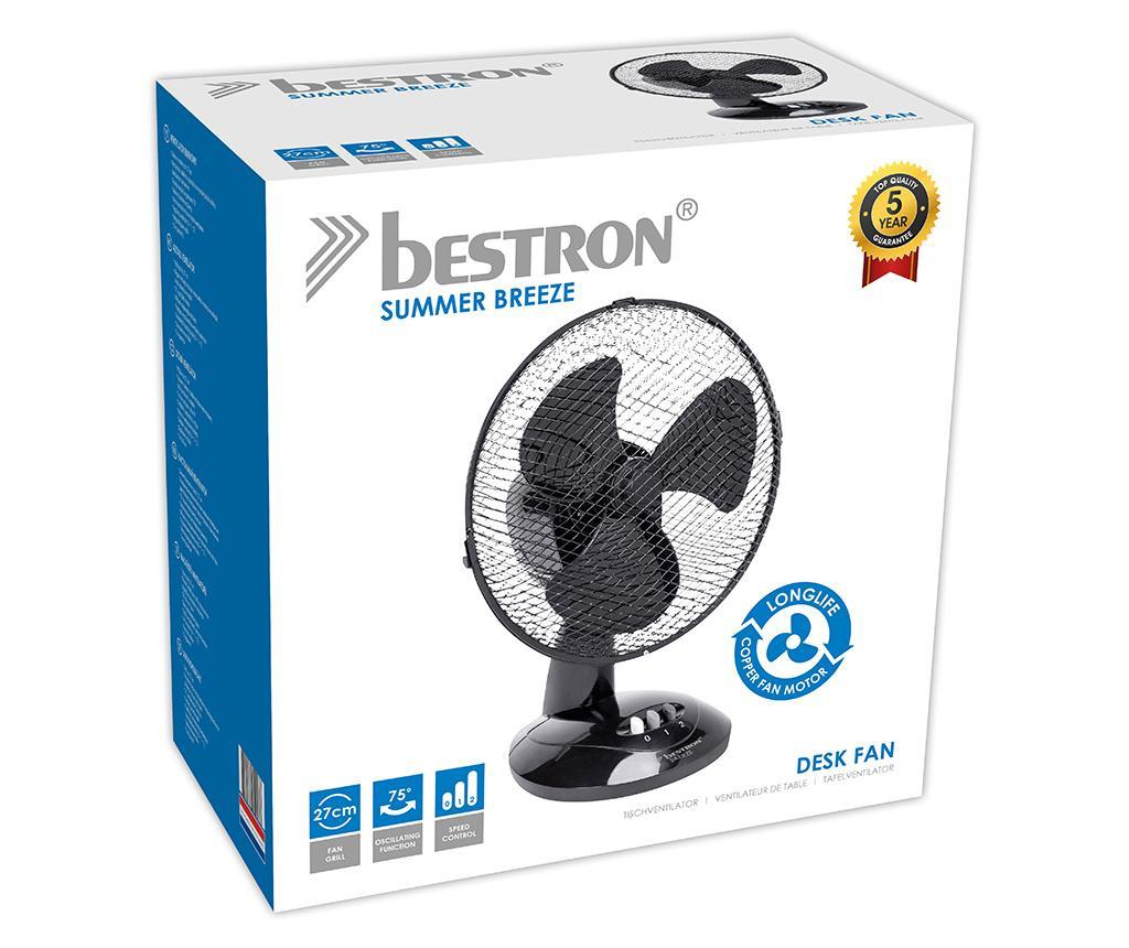 Stolni ventilator Bestron Desk Two Black