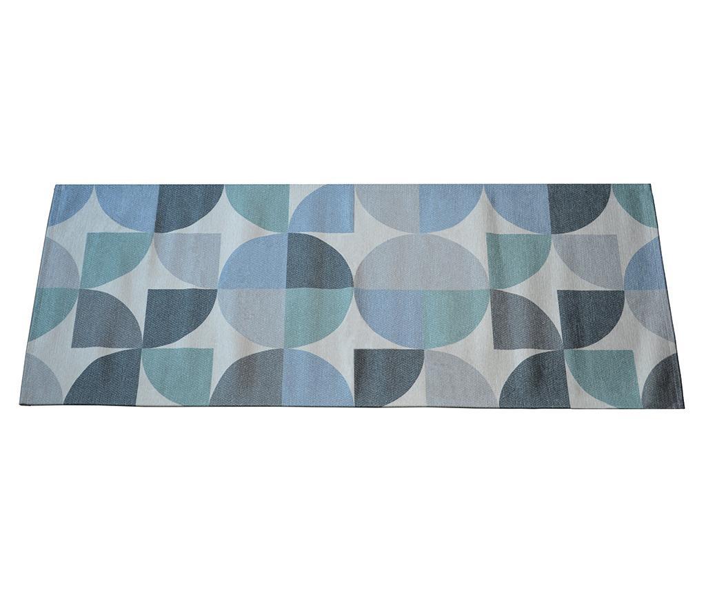 Tepih Seventy Blue 60x115 cm