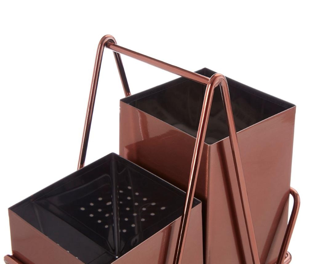 Držalo za jedilni pribor Caddy Rose Gold