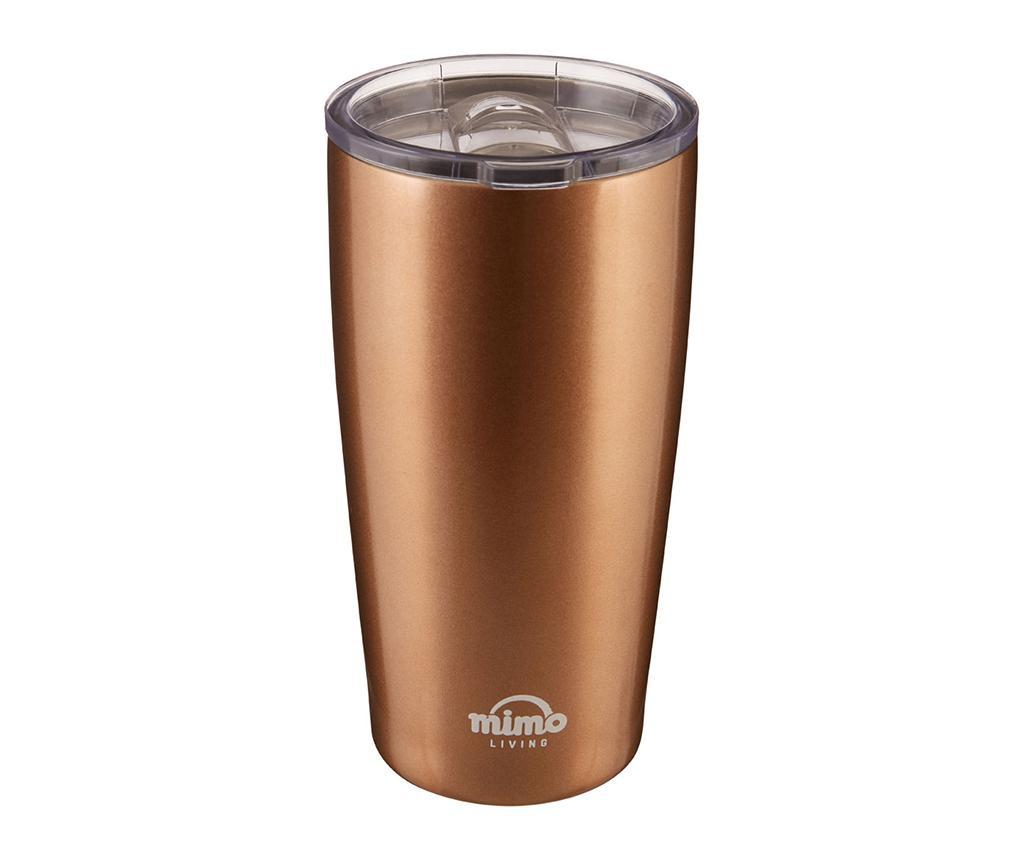 Mimo Metallic Gold Utazó bögre 550 ml